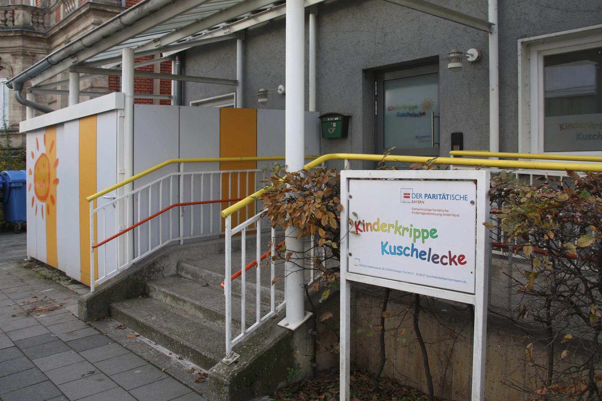 Kinderkrippe Kuschelecke 91054 Erlangen Paritatische Kita