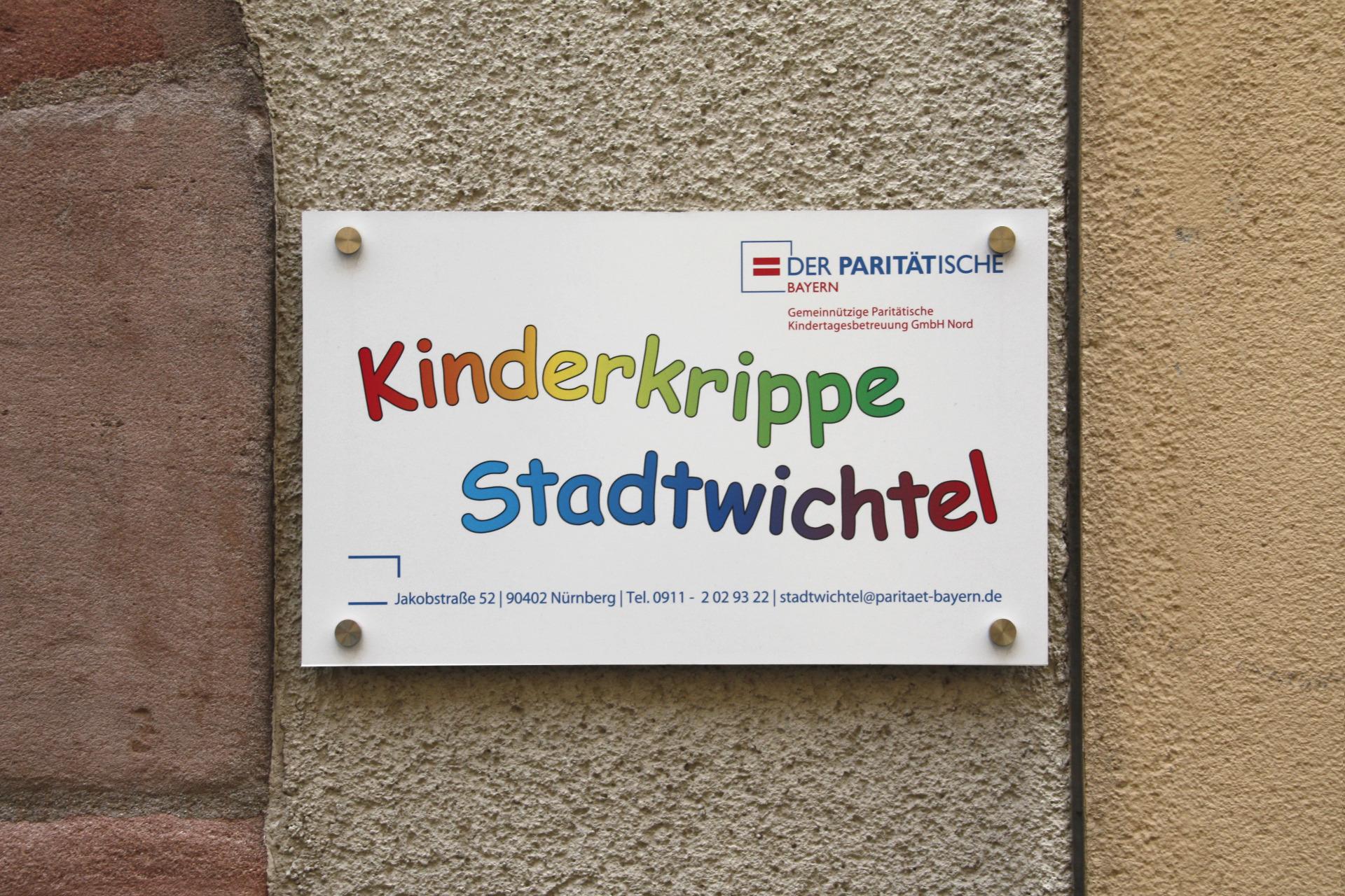 Paritatische Kinderkrippe Stadtwichtel 90402 Nurnberg